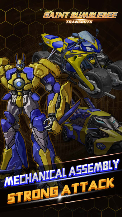 Gaint Bumblebee: Triple-Forms